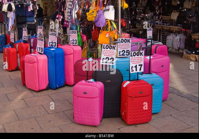 Shop Bags Suitcases Stock Photos & Shop Bags Suitcases Stock ...