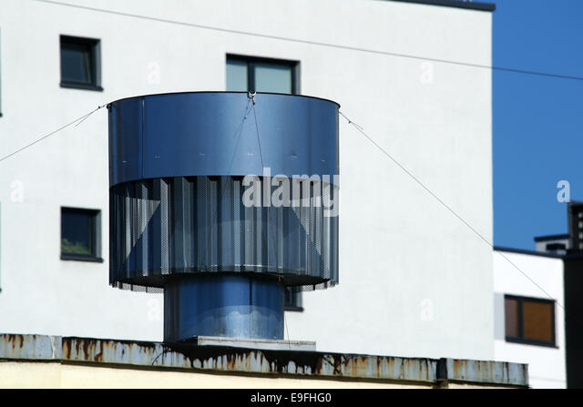 Rooftop Vent   Stock Image