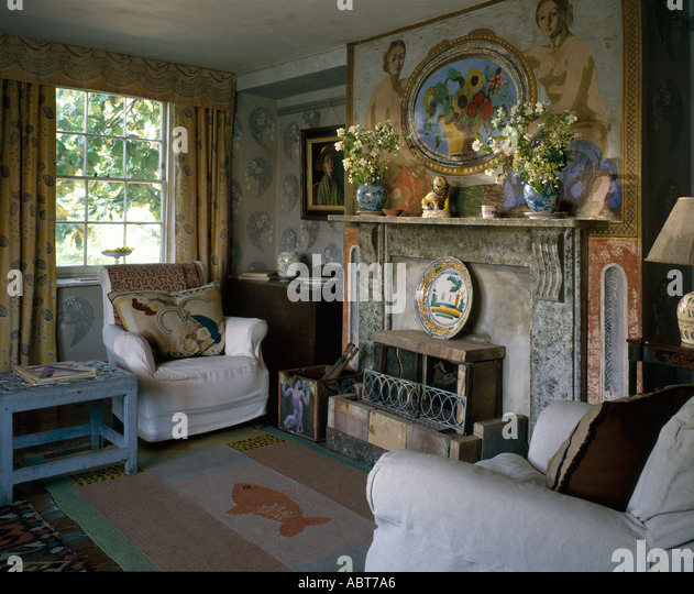 Charleston farmhouse sussex stock photos charleston for Garden rooms sussex
