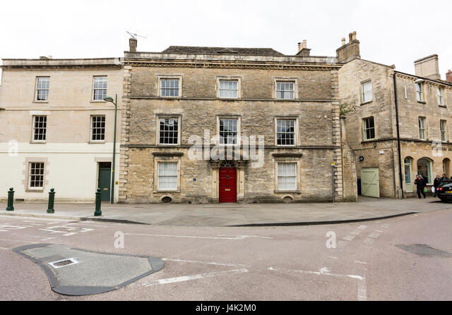 Edwardian House At Park Street Cirencester Gloucestershire England