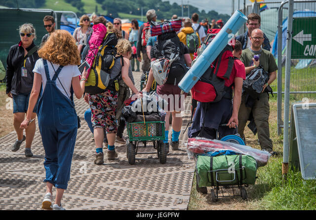 Trade Stands Glastonbury : Bell tents stock photos images alamy