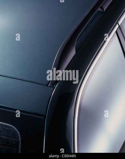 Detail Studio Photograph Of Car Roof And Rack   Stock Image