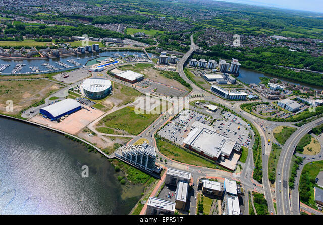 Cardiff Bay Aerial Stock Photos Cardiff Bay Aerial Stock Images Alamy