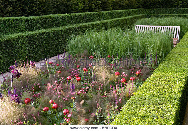 The Laurent Perrier Garden Design By Luciana Giubbilei Sponsor Champagne  Laurent Perrier   Stock Image