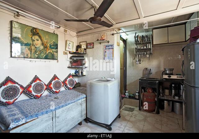 Chawl stock photos chawl stock images alamy for Bathroom designs mumbai