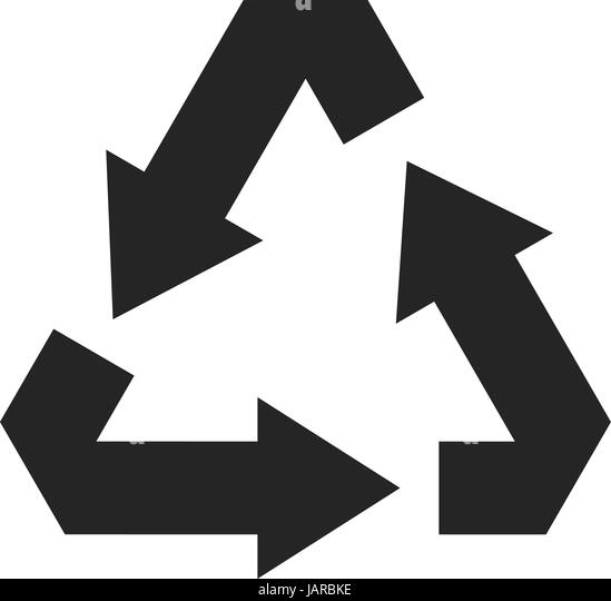 Recycle Symbol Black Stock Photos Recycle Symbol Black Stock