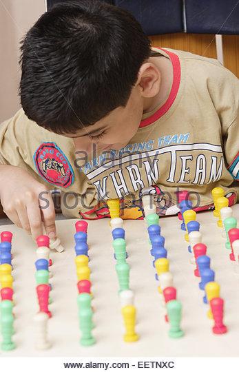 Musical Toys For Autistic Boys : Autistic boy school stock photos