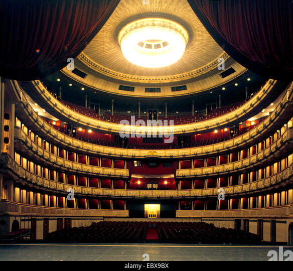 Vienna State Opera Interior Stock Photos amp