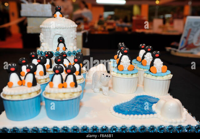 Sugarcraft And Cake Decorating Show : Cake International Birmingham Stock Photos & Cake ...