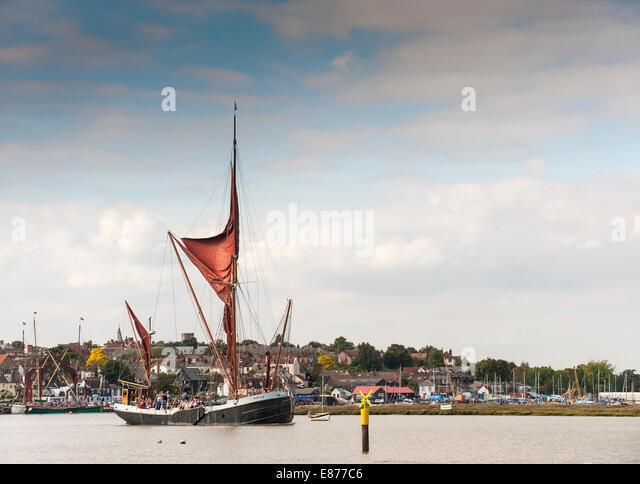 Sailing Barge Stock Photos Sailing Barge Stock Images Alamy