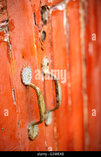 Colourful Painted Front Doors Stock Photos Amp Colourful