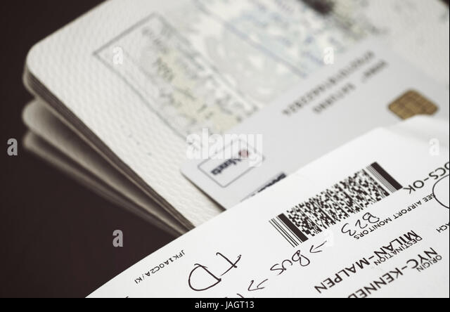 boarding pass passport stock photos boarding pass passport stock images alamy. Black Bedroom Furniture Sets. Home Design Ideas