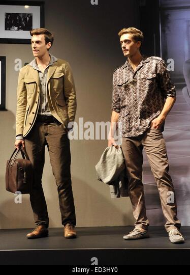 Milan Fashion Week Mens Spring Summer Stock Photos & Milan ...