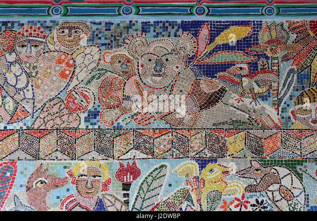 Melbourne koala stock photos melbourne koala stock for Australian mural