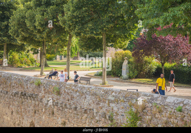 Brittany n stock photos brittany n stock images alamy for Jardin anglais en france