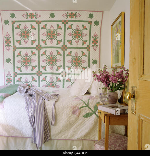 Charmant Spring Bedroom   Stock Image