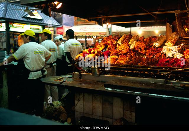 Montevideo uruguay mercado stock photos montevideo for Bar living montevideo