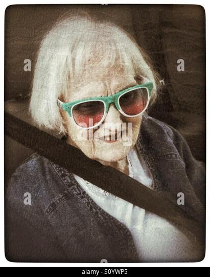 Old People Wearing Sunglasses