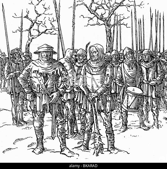 the history of the 1524 peasant revolt in germany Curriculum vitae lawrence p buck professor of history  nürnberg and the peasants' revolt, 1524-  erlangen, germany and in the staatsarchiv, nürnberg.