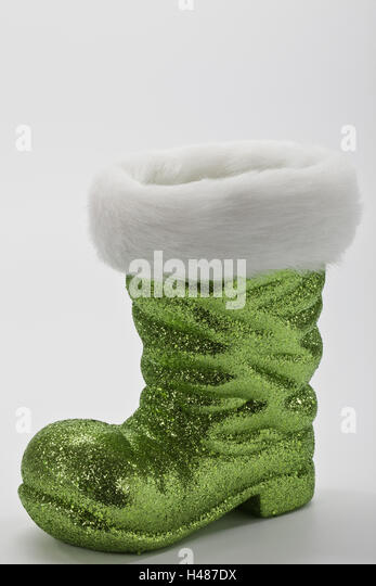 nicholass boot green blank stock image - Edekors De