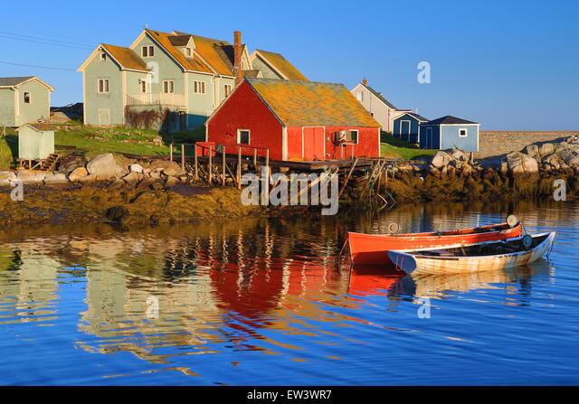Peggys cove stock photos peggys cove stock images alamy for Nova scotia fishing
