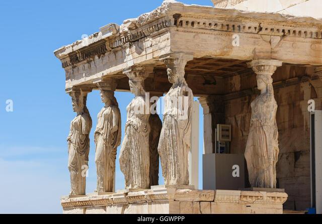 Caryatids Acropolis Museum Stock Photos & Caryatids ...