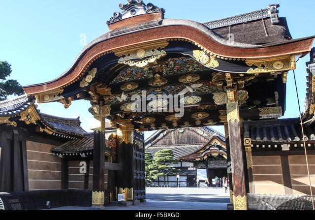 Kyoto Imperial Palace Stock Photos & Kyoto Imperial Palace Stock Images -...