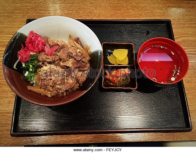 Donburi Stock Photos & Donburi Stock Images - Alamy