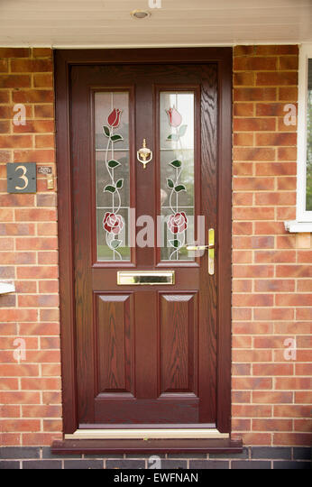 Upvc door stock photos upvc door stock images alamy for Upvc front door 78 x 30