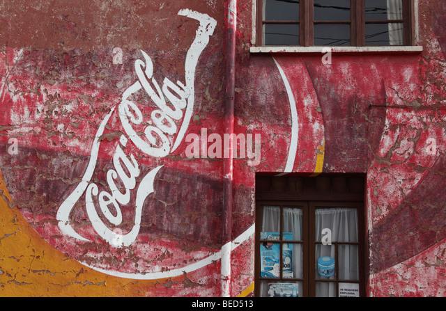 Peeling paint badge stock photos peeling paint badge for Coca cola wall mural