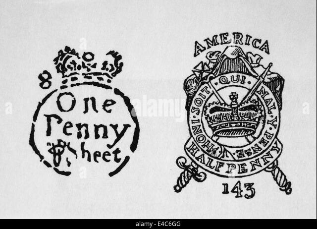 Royal stamp, 1765. | Business reference | Pinterest