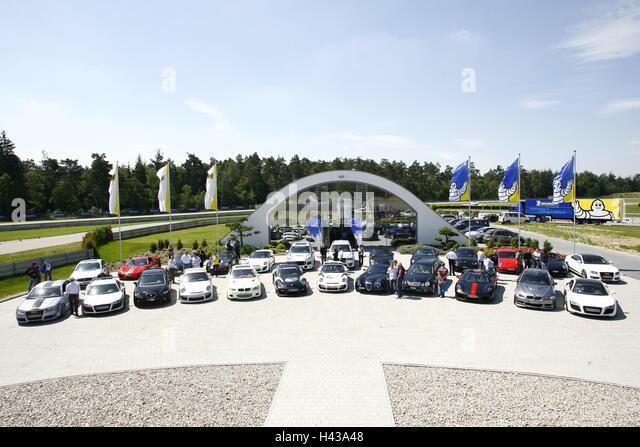 Luxury sports cars stock photos luxury sports cars stock for Garage ad merignac