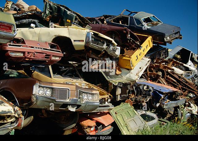 American Car Wrecks Stock Photos Amp American Car Wrecks
