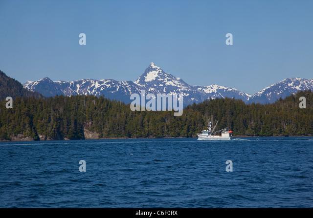 Alaska fishing boat stock photos alaska fishing boat for Sitka alaska fishing charters