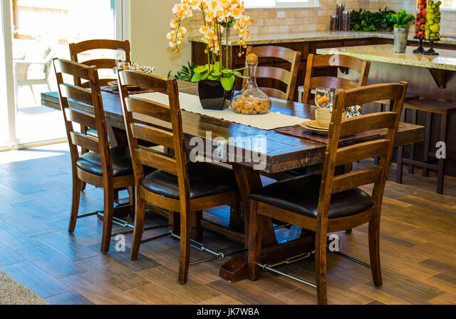 Dining Room Set With High Back Chairs