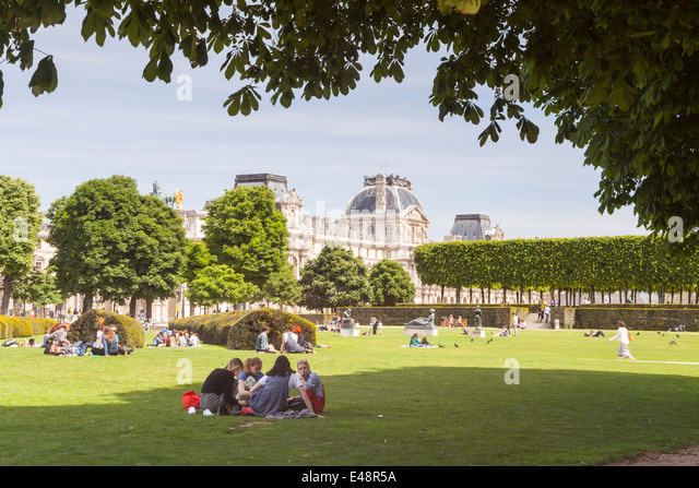 Jardin des tuileries paris stock photos jardin des for Tuileries jardin