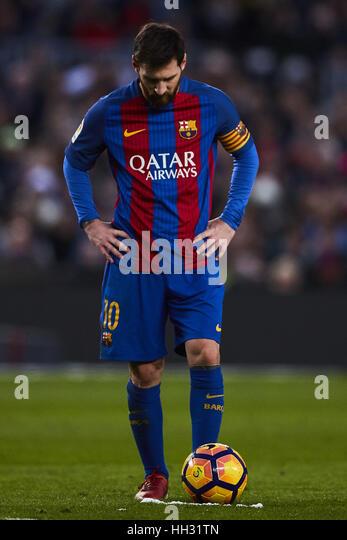 Barcelona Spain Jan Lionel Messi Fc La Live Levante Ud