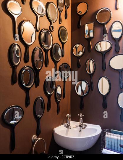 Wall Of Mirrors mirrors display wall stock photos & mirrors display wall stock
