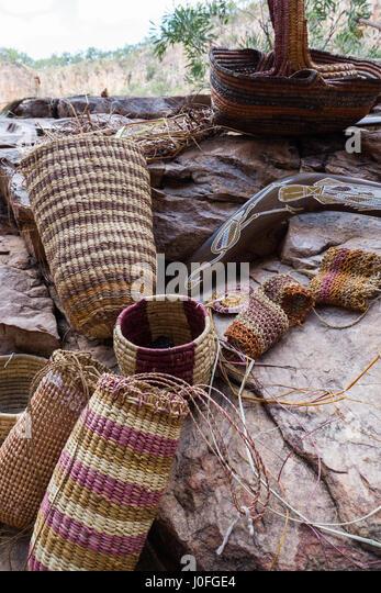 Basket Weaving Aboriginal : Boomerang aboriginal stock photos