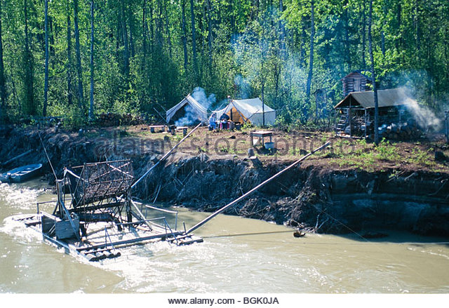 Tanana river stock photos tanana river stock images alamy for Fishing in fairbanks alaska