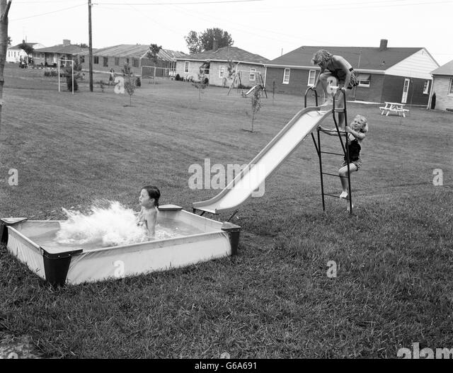 1950s Swimming Pool Stock Photos 1950s Swimming Pool Stock Images Alamy