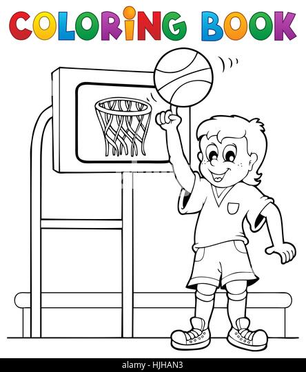 sport sports colour paint painted colouring boy lad - Sports Pictures To Colour