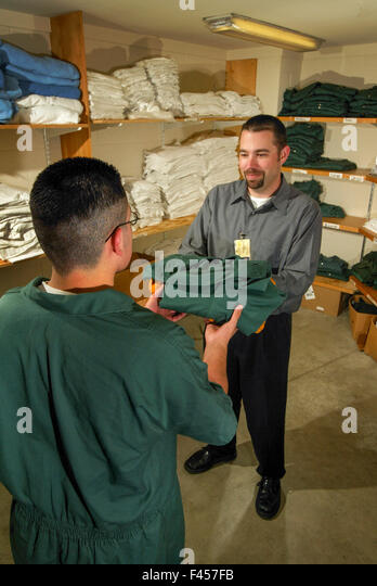 Corrections Officer Prison Stock Photos Amp Corrections