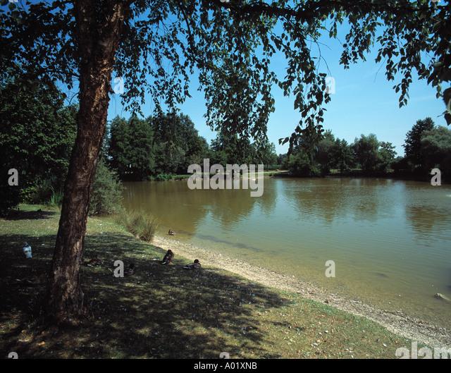Abens stock photos abens stock images alamy for Kleiner teich