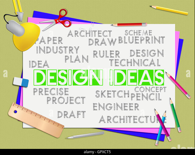Ideas innovation meaning inventions stock photos ideas design ideas meaning development designer and thoughts stock image malvernweather Choice Image