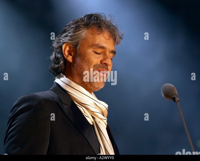 andrea bocelli stock photos andrea bocelli stock images alamy. Black Bedroom Furniture Sets. Home Design Ideas