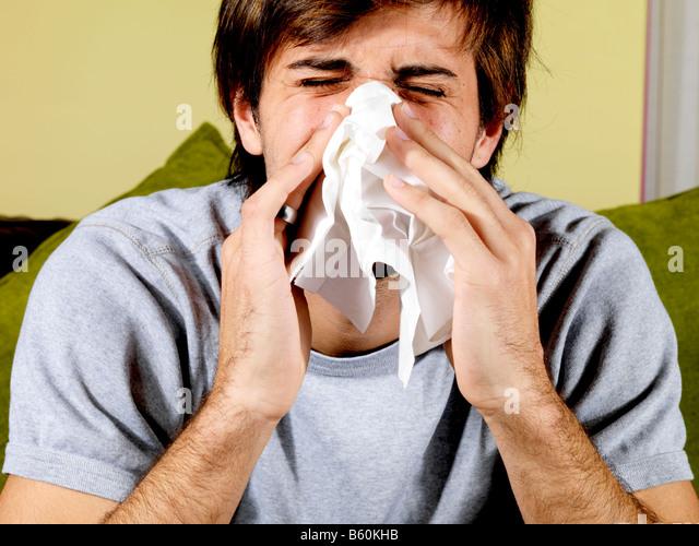 Nose inhaler in cock