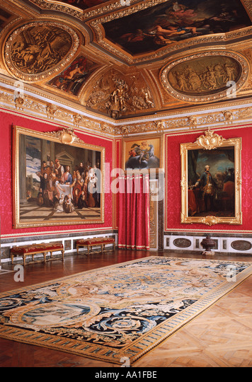 Palace versailles salon de mars stock photos palace for Salon de versailles 2016