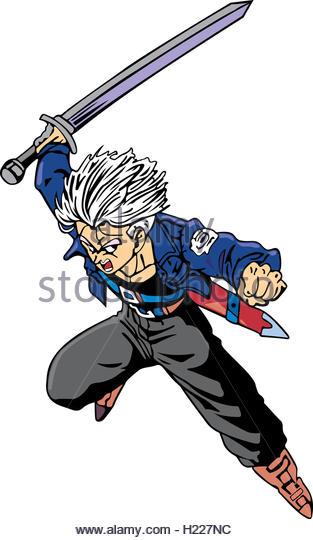 Dragon Ball Z Cartoon Characters : Goku stock photos images alamy