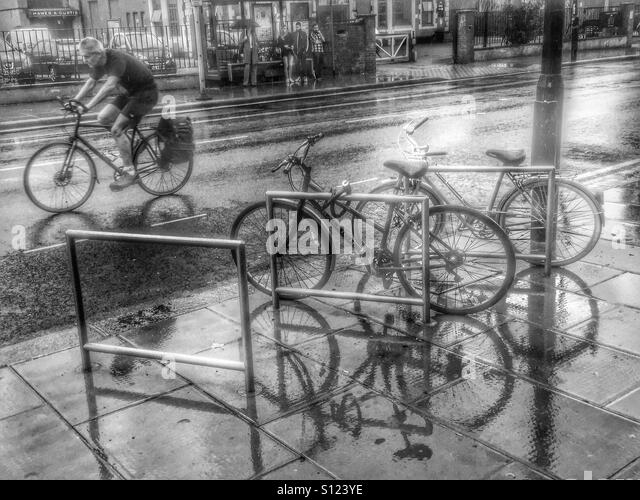 Raining Road Reflection Stock Photos & Raining Road ...